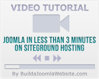 Joomla in Less than 3 minutes