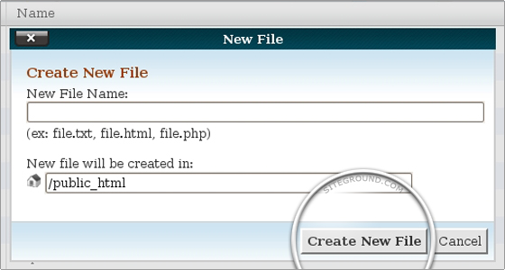 File manager tutorial