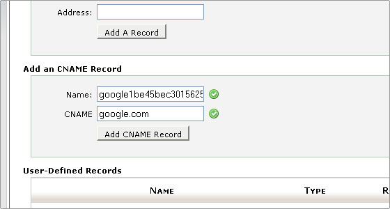 articles cpanel change zones cname records
