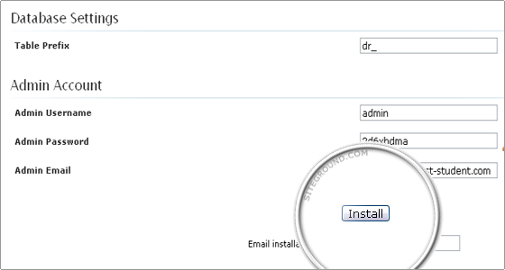 how to create a website in drupal step by step