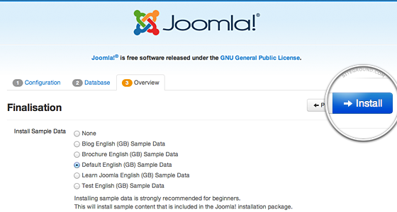 how to install joomla How to install joomla joomla_install joomla install