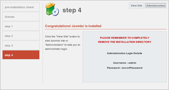how to install joomla  u2122 1 0 cms manually Vehicle Security Module Vehicle Security Module