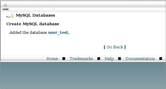 phpmyadmin how to create database user
