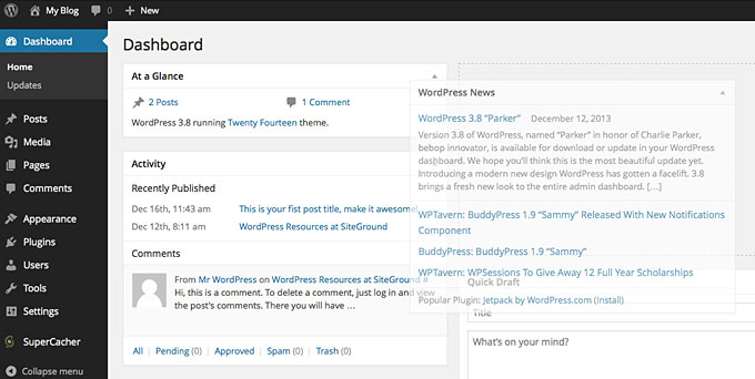 How to Customize the WordPress Dashboard