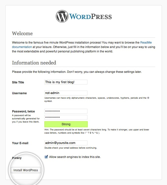 How to Install WordPress - WordPress Installation Tutorial
